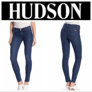 Hudson Krista Super Skinny Crop Jeans - size 28